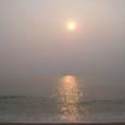 笹川流れからの夕日