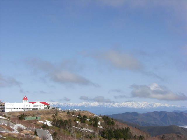 美ヶ原高原の眺望
